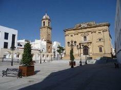 Iglesia Mayor en Chiclana de la Frontera, provincia de Cádiz.