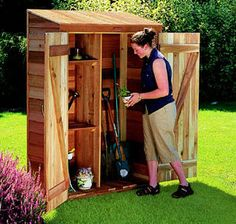 Cedarshed 2' x 4' Panelized Garden Hutch