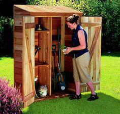 Cedarshed 2' x 4' Panelized Garden Hutch