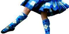 Trying to convince the daughter that Highland Dancing is cool because mommy did it.
