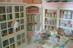 I finally had a moment to snap some quick pictures of the Cath Kidston Shop I am currently making in Miniature. I'm still having lots of...