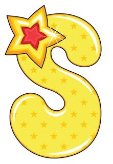 S is for Star, Baby Alphabet Alphabet Letters Design, Alphabet Templates, Alphabet For Kids, Alphabet And Numbers, Alphabet Drawing, Alphabet Art, Hand Lettering Art, Lettering Design, Scrapbook Letters