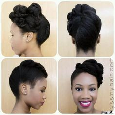 ... Natural Hair on Pinterest | Natural Hair Wedding, Natural Hair Brides