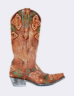 Women's Old Gringo Mariione Boots Brass and Oryx #L836-9