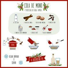 Cola de mono Chilean Recipes, Chilean Food, Pancakes And Bacon, Food Journal, Recipe For Mom, Cocktail Drinks, Cakes And More, Easy Cooking, Diy Food