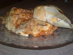 Pasta Med Bacon, Lasagna, Nachos, French Toast, Food And Drink, Baking, Dessert, Breakfast, Ethnic Recipes