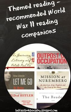 Inspiring WWII fiction & non-fiction reading journeys~ pin now read later~