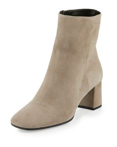 Suede+Square-Toe+Ankle+Boot,+Clay+(Argilla)+by+Prada+at+Neiman+Marcus.