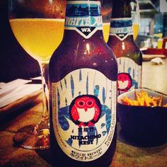 "@izakaya_nomad's photo: ""Hitachino Nest white ale: brewed in the tradition of a Belgian style white beer w/ coriander nurmeg, orange peel & orange juice. #hitachino #craftbeer #japanesecraftbeer #hitachinonestwhiteale #izakaya #beer #beligianbeet #yakitori #sashimi #tataki"""