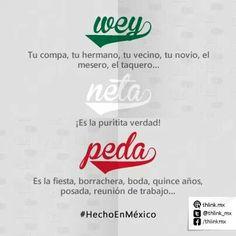 Dicen que son las palabras más usadas en México, ¿añadirías alguna más?