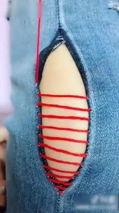 Stitch Your Life Together with These 8 Clever Sewing Hacks! Quick and easy ways to help you sharpen your sewing skills (pun intended), we came up with the seven sewing hacks you should keep in your back pocket. Sewing Basics, Sewing Hacks, Sewing Tutorials, Sewing Crafts, Sewing Projects, Sewing Tips, Sewing Stitches, Embroidery Stitches, Hand Embroidery