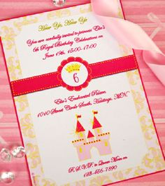 pink and gold princess royal fairytale birthday party printables and supplies