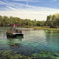 Rainbow Springs State Park: Once privately owned, the 1,400-acre park features gardens and tumbling waterfalls. A 500-million-gallon spring feeds the Rainbow River, a popular place for tubing, kayaking in clear-bottom boats, snorkeling, and guided nature trips