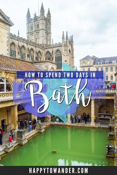 Bath is one of the most beautiful cities in England! Here's a 2 day itinerary that makes sure you hit all the major spots and a few hidden gems. Sightseeing London, London Travel, Travel Uk, Oh The Places You'll Go, Places To Travel, Travel Destinations, British Travel, European Travel, Brighton