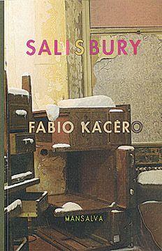 Vi um exposição genial do Kacero em Buenos Aires. gostei do modo como ele mexia plasticamente com a palavra. descobri este livro de contos e comprei. tá indo bem até aqui.