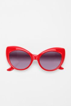 """Reminds me of Lolita.   """"Extreme Cat Eye Sunglasses,"""" UrbanOutfitters.com ($16.00)"""