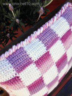 Cojín de ganchillo Paso a Paso | Patrones Crochet, Manualidades y Reciclado
