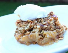 apple crisp with canned apple pie filling
