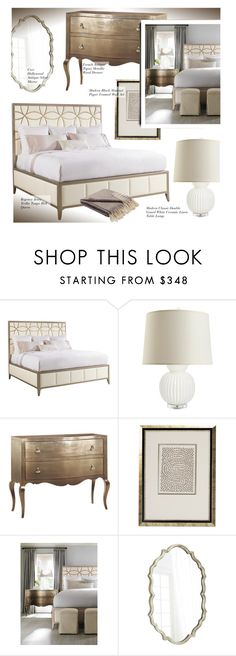 """""""Bedroom Decor"""" by kathykuohome ❤ liked on Polyvore featuring interior, interiors, interior design, home, home decor, interior decorating, WALL, bedroom, Home and hollywoodregency"""