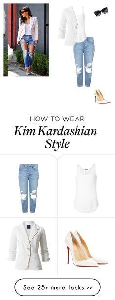 """Kim Kardashian"" by preppycheer1 on Polyvore"