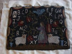 alphabet & sheep