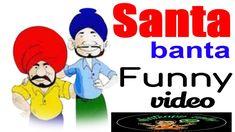 Santa Banta Funny Video Whatsappzokes