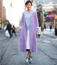 the key to pulling off pastels