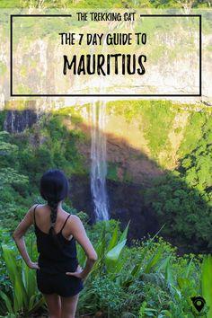 The Trekking Cat - Guide to Mauritius Day Itinerary) Mauritius Travel, Mauritius Island, World Travel Guide, Travel Guides, Travel Tips, Travel Goals, African Holidays, Safari, Africa Destinations