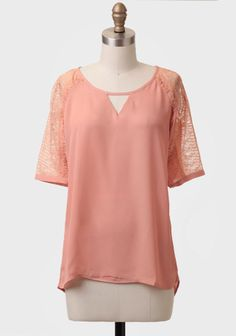 Passing Time Lace Detail Top at #Ruche @Ruche