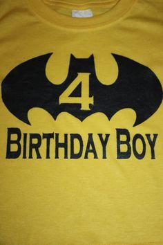 Batman Birthday Boy T shirt,  Go To www.likegossip.com to get more Gossip News!