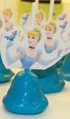 Cinderella Cake Pops
