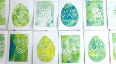 Art For Kids, Crafts For Kids, Easter Art, Art School, Plant Leaves, Art For Toddlers, Crafts For Children, Art Kids, Kids Arts And Crafts