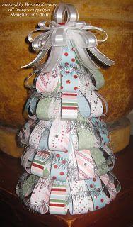 Keenan Kreations: Candy Cane DSP Xmas Tree