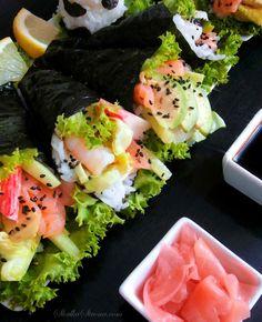 Słodka Strona: Sushi - Temaki