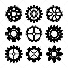 Gears #jpg #image #steel #metal • Available here → https://graphicriver.net/item/gears/6735938?ref=pxcr