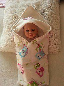 Hračky - Deka pre bábiku sovička - 8402347_
