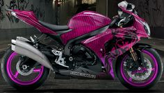 H0tt pink sports ninja bike | Bikeskinz - Motorcycle Graphics - Chiao Dragon Pink.                        this is the Bike Of my Dreams and You will Be seeing me on it real soon!!!LOL