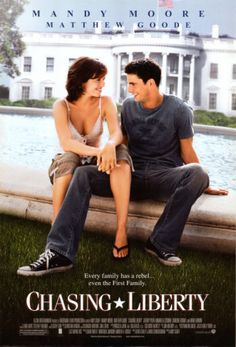 Chasing Liberty. I had forgotten how much this movie makes me smile ♥ A great chick-flick pick!