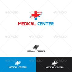 Medical Center Logo Template - Symbols Logo Templates