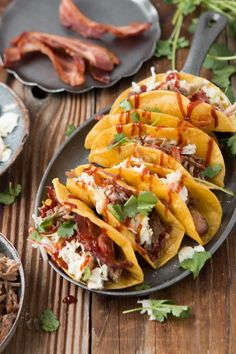 BBQ Pulled Pork Tacos for the ultimate mashup of 2015!