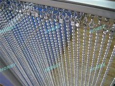Honby 6mm Vertical Metal Ball Chain Curtain for Room Divider (W0105A)