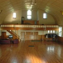Heavenly space awaits your inspiration, 4,500 sq ft 50 by 75 ft on 1.3 acres, hand hewed granite building Historic former St. Suzanne Roman Catholic Church nestled in the fertile rich Rural Eastern Township of Stanhope, Coaticook, Quebec