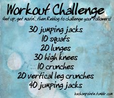 Back On Pointe - Time for another workout challenge!