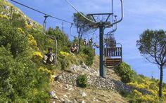 ***Getting Around Capri - - -Funicular