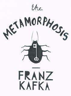 Franz Kafka, 'The Metamorphosis' : http://maxmachenillustration.tumblr.com/post/37423804675/metamorphosis-book-cover | #bookcover