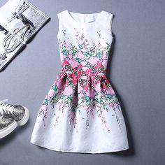 New Fashion Sleeveless Vest Dress