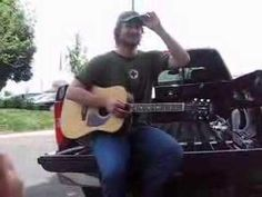 He's so amazing. Just stops to play some songs for his fans. I like how he stops in the middle of the song to explain a part. Eric Church baby. <3