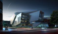 Daegu Gosan Public Library by Lukasz Wawrzenczyk, Frisly Colop Morales, Jason Easter, Adrian Yau