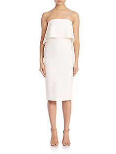 LIKELY - Drigges Bodycon Strapless Dress