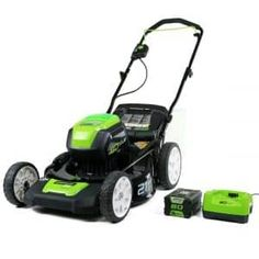 Looking for Greenworks PRO Cordless Lawn Mower, Battery Charger Included 2501202 ? Check out our picks for the Greenworks PRO Cordless Lawn Mower, Battery Charger Included 2501202 from the popular stores - all in one. Lawn Equipment, Outdoor Power Equipment, Electric Mower, Cordless Lawn Mower, Push Lawn Mower, Mowers For Sale, Steel Deck, Riding Lawn Mowers, Thing 1
